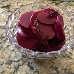 Pickled Beets prepared by Dianne