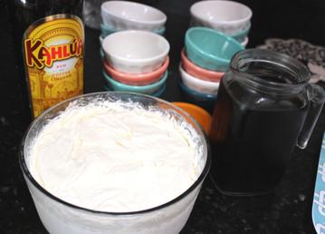 Helado Blanco y Negro (Cinnamon Ice Cream with Ice Coffee) prepared by Jackie