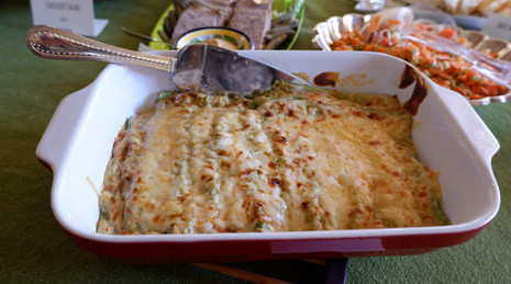 Green Cannelloni with Ricotta Filling prepared by Jackie