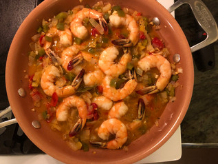 Shrimp Creole from Jubilee prepared by Becky