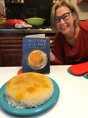 Chelo ba Tahdig (Steamed Persian Rice with Tahdig) prepared by Jackie