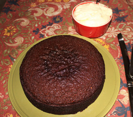 Fresh Ginger Cake with Lemon Cream from Ready for Dessert prepared by MaryLou