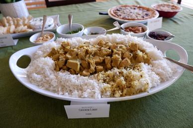 Ben Patterson's Chicken Curry prepared by Dianne
