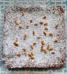 Torta de Piñones (Pine Nut Torte) prepared by Michele