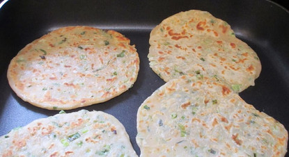 Scallion Pancakes prepared by Mary