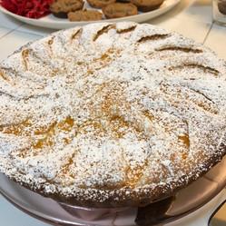Orange Almond Tart prepared by MaryLou
