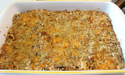 Carrot Mushroom Loaf from The Moosewood Cookbook prepared by Arleen (guest)
