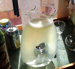 Makrut Lime Lemonade (1995) prepared by Julia