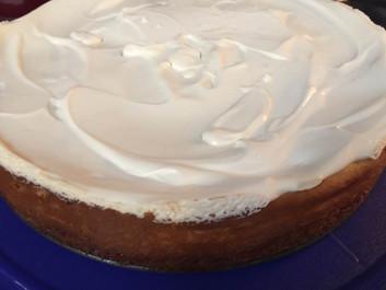 Pumpkin Cheesecake prepared by Meredyth