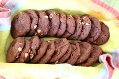 Chocolate Hazelnut Biscotti prepared by Jackie