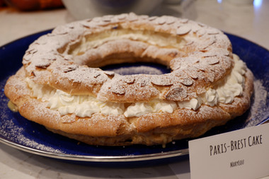 Paris-Brest Cake prepared by MaryLou