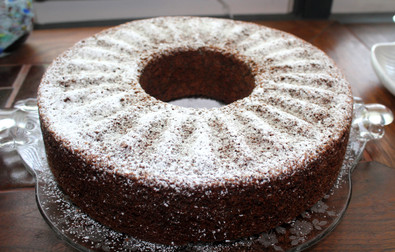 Ukrainian Poppyseed Cake from The Moosewood Cookbook prepared by MaryLou