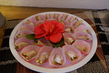 Toot (Persian Marzipan) prepared by Becky