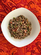 Pickled Black-eyed Peas from The Welcome Table prepared by MaryLou