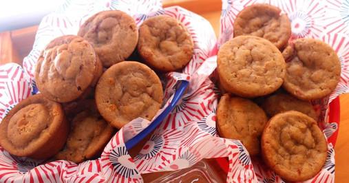 Honey Strawberry Muffins prepared by Christina