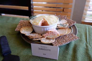 Paula Wolfert's Salmon Rillettes prepared by Becky