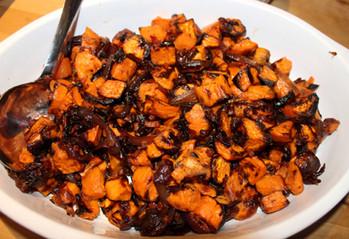 Grace's Sweet Potatoes prepared by Patty