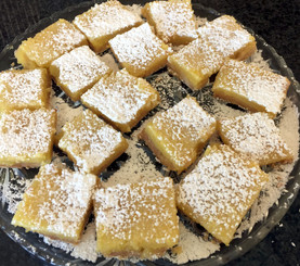 Lemon Bars on Brown Butter Shortbread from Tartine All Day prepared by Linda