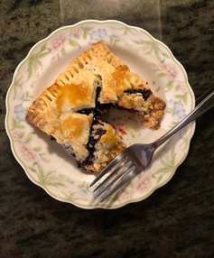 Blueberry Hand Pies from kingarthurbaking.com prepared by Becky