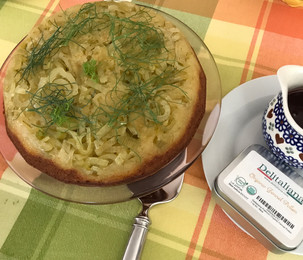 Fennel Upside-Down Cake prepared by MaryLou