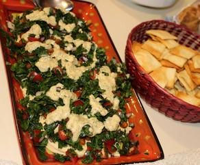 Chickpea Shawarma Dip prepared by MaryLou