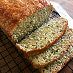 Zucchini Cheddar Bread from Carla Hall's Soul Food prepared by Dianne