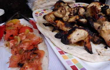 Joojeh Kabab (Chicken Drumettes Kabab) prepared by Sue