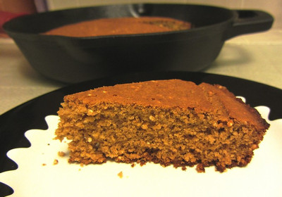 Quinoa-quinoa Cornbread from Vegan Soul Kitchen prepared by Jen
