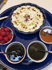 Shir Berenj (Rice Pudding) prepared by MaryLou