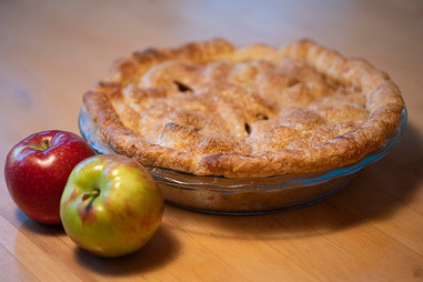 Almond Apple Pie from Food52.com prepared by Maria