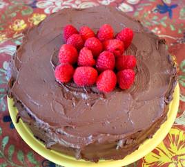 Happy Wife, Happy Life Chocolate Cake prepared by Sandy