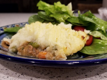 Hasty Pie from As Easy As Pie by Susan Purdy prepared by Gayla