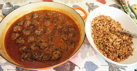Tunisian Meatballs from One Good Dish prepared by MaryLou