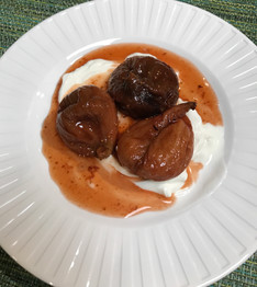 Calimyrna Figs in Spicy Port Sauce from Essential Pépin prepared by MaryLou