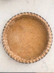 Whole Wheat Mediterranean Pie Crust from NYTimes Cooking prepared by Justine