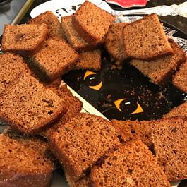 Honey spice bread prepared by Susie