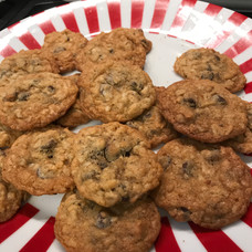 Oatmeal Coconut Chocolate Chip Cookies baked by Dianne