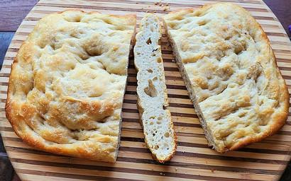 Simple Sourdough Focaccia prepared by Michele