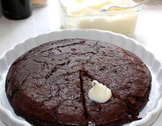 Boca Negra Cake prepared by Mary