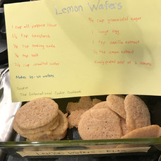Lemon Wafers baked by Elda