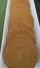 Finnish Ginger Snaps prepared by Shelley