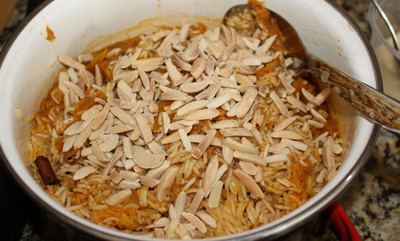 Pilaf for a Curry Banquet from Feast: Food to Celebrate  Life prepared by Becky