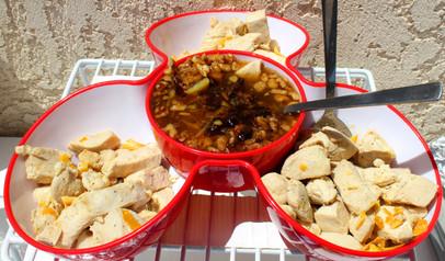 Orange-flavored Sautéed Chicken Pieces prepared by Sue