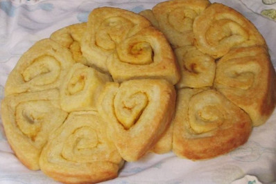 Buttery Sourdough Buns prepared by Becky