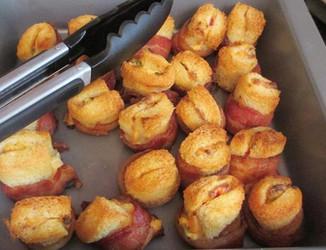 Bacon Bites prepared by Lisa