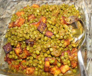 Muttar Paneer from Feast: Food to Celebrate Life prepared by MaryLou