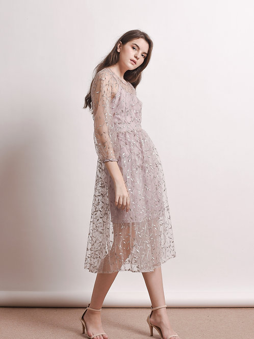 Lucretia embroidery dress