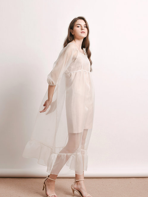 Clio organza dress