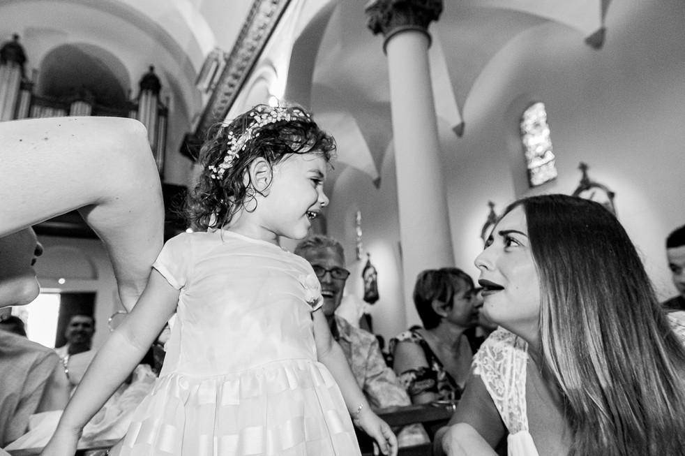 photographie baptême noir et blanc marseille