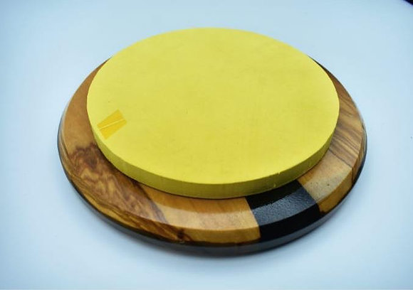 "Practice Pad 8"" - Black and Yellow"